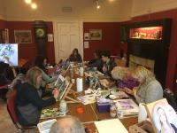 Art class with Mark Lippett