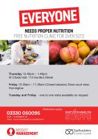 Nutrition classes in Burton