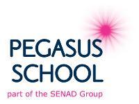 Pegasus School logo