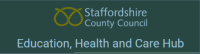 Staffordshire County Council Education Health and Care Hub logo