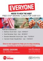 Stop smoking in Cannock