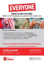 Stop smoking in Stafford
