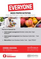 Weight loss / nutrition in Cannock