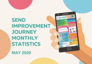 SEND Improvements Journey monthly statistics