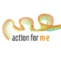 Action for M E Logo