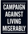 CALM The Campaign Against Living Miserably Logo