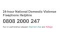 Domestic Violence Freephone Helpline Logo