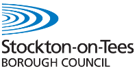 Yarm Library Stockton on Tees Borough Council Logo