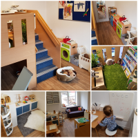 Playroom Photo Collage
