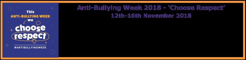 AntiBullying Week Nov 2018