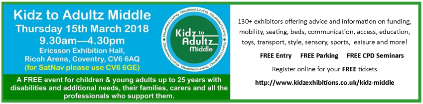 Kidz to Adultz Event 2018