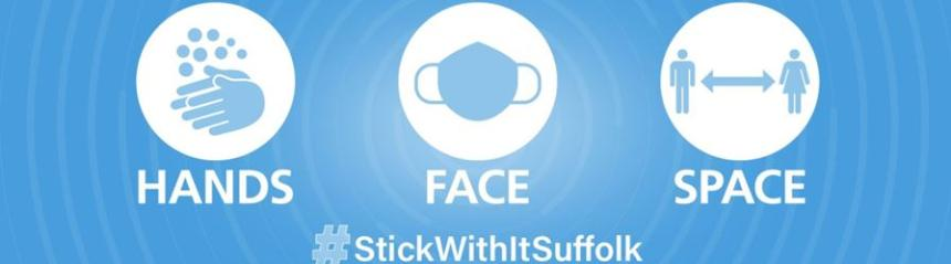 Hands, Face, Space #stickwithitsuffolk