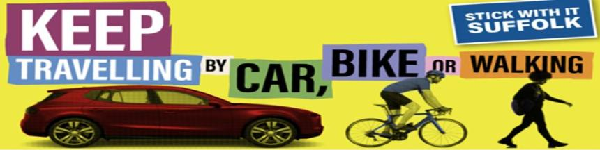 Keep Travelling by Car, Bike or Walking