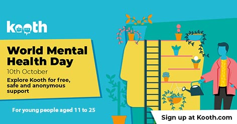 Kooth World Mental Health Day on 10th October 2021