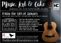 Art, Music & Cake Fundraiser, 13 January 2017