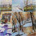 Theme Winter paintings