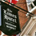 the limes hotel sign