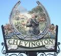 Chevington village sign