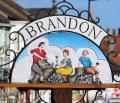 Brandon town sign