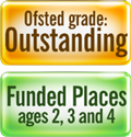 Ofsted/funding logo