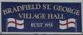 hall sign