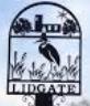 Lidgate village sign