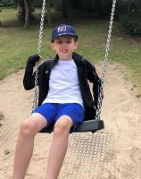 Photo of child on swing