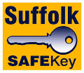 Suffolk Safekey logo