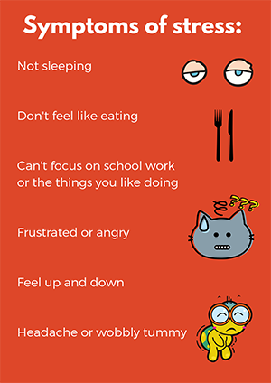 Stress in children and young people - information and advice