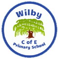 Wilby CEVC Primary School logo