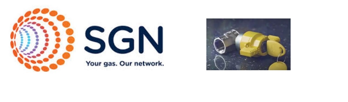 SGN logo and locking valve