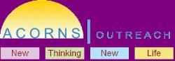 Acorns outreach logo