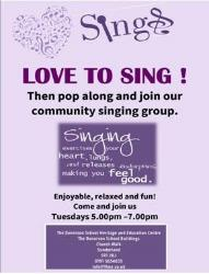 Advert love to sing