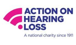 Action on hearing loss logo