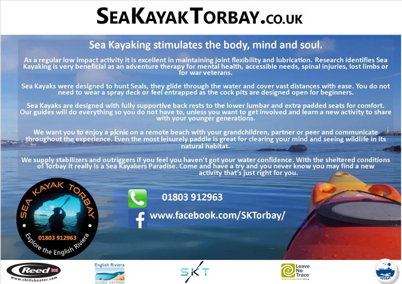 Benefits of Kayaking advert
