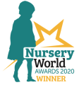 Nursery World Best Inclusive Practice Award Logo