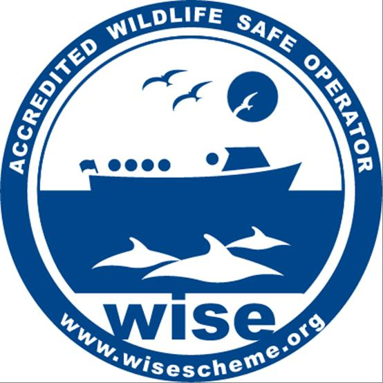 WiSe accredited and recommended boat operator