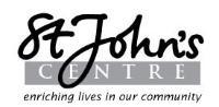 St John's Centre logo