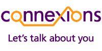 Connexions logo, tagline Let's talk about you