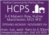 Hulme community pantry flyer
