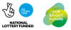 Lottery funding logos
