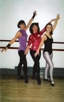 Photo of three tap dancers