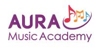 Aura Music Academy logo