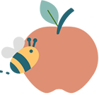 Apples and Honey Logo