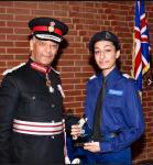Wandsworth VPC winning awards at the Annual Cadet Awards