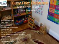 Busy Feet Kids Logo