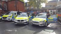 Wandsworth JVPC washing Police Vehicles