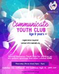 Flyer for youth club