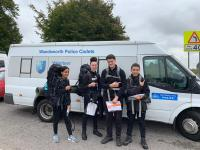 Wandsworth VPC completing their Duke of Edinburgh Expedition