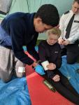 Wandsworth VPC competing at our Annual First Aid Competition